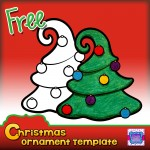 Preview FREEBIE TREE PDF Ornaments Cover page