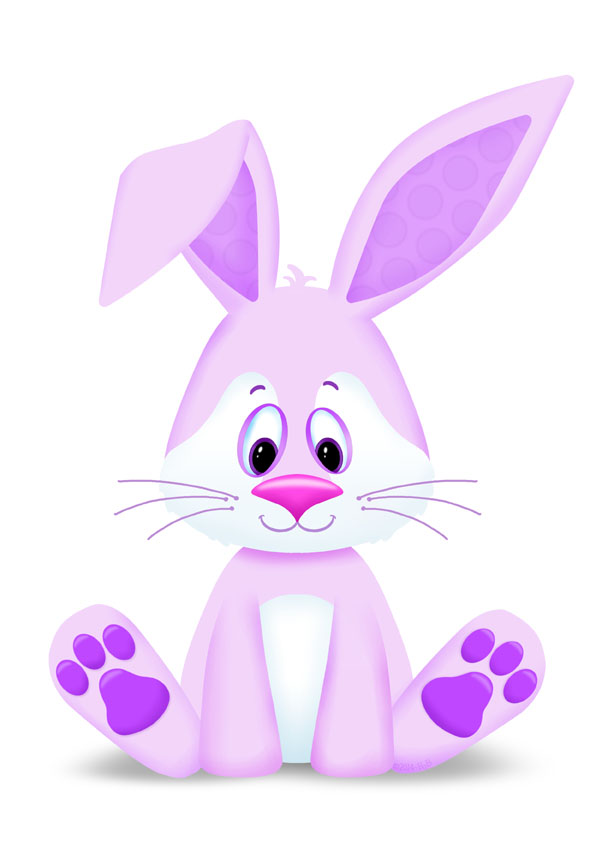 PREVIEW Cute Bunny lavendar
