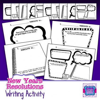 PREVIEW New Year's Resolutions activities