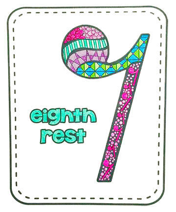 PREVIEW eighth rest