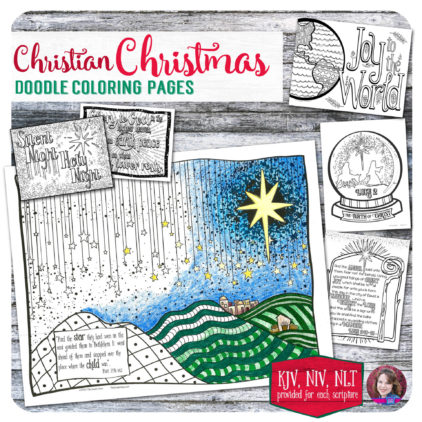 preview-update-christian-christmas-doodle-coloring-pages-2016